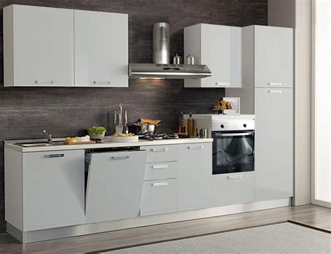 Cucina Completa Design Moderno 330 Cm Con Lavastoviglie