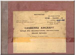 English Electric Canberra Aircraft Repair And