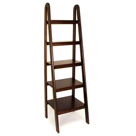 Ladder Bookcases For Sale by Wayborn Ladder Bookcase Brown Bookcases At Hayneedle