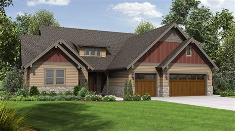 Craftsman House Plan 23109 The Leuven