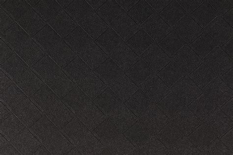 Black Vinyl Upholstery Fabric by Richloom Beveled Patterned Vinyl Upholstery Fabric In Black