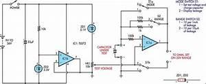Capacitor Leakage Adaptor For Dmms Circuit Diagram