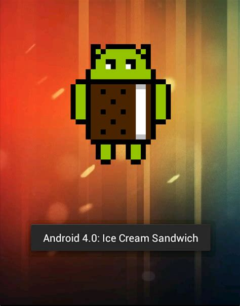 android sandwich 4 android easter eggs from gingerbread to jelly bean