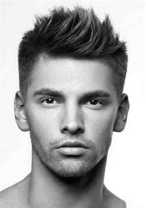 spiky hairstyles  men bold  classic haircut ideas