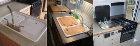 bathroom sink cover for extra counter space rv kitchen sinks rv obsession