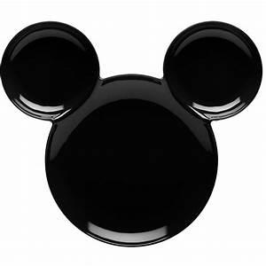Image Black Mickey Head   Joy Studio Design Gallery - Best ...