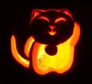 Cat Pumpkin Carving Designs
