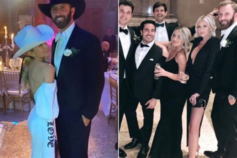 Paulina Gretzky and Dustin Johnson unwind at her brother's ...