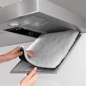 filtre combine pour hotte blancheporte With hotte de cuisine avec filtre a charbon