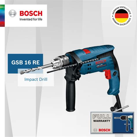 gsb 16 re bosch gsb 16 re impact drill kit singapore