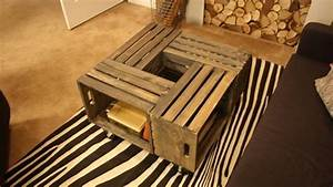 20 diy wooden crate coffee tables guide patterns With rustic crate coffee table