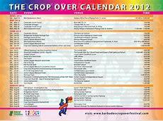 Barbados Crop Over Festival 2012 full calendar of events