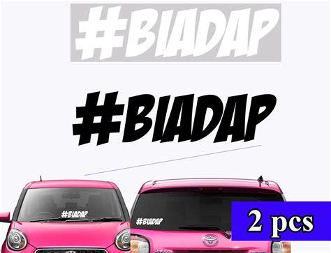 What is a vinyl decal sticker. Myvi Jdm Decals : 5 Pcs Jdm Car Racing Sponsor Sticker Windshield Mirror Door Side Skirting ...