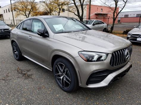 Choose your form of inspiration. New 2021 Mercedes-Benz AMG GLE 53 4MATIC Coupe SUV | Mojave Silver Metallic 21-341