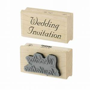 Personal impressions wedding invitation rubber stamp for Rubber stamps for wedding invitations uk