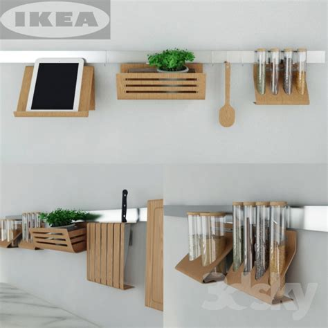 3d Models Other Kitchen Accessories  Ikea Kitchen Set