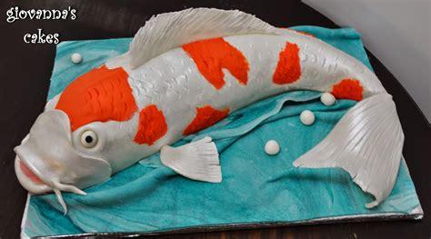 japanese fish cake giovanna s cakes koi fish cake