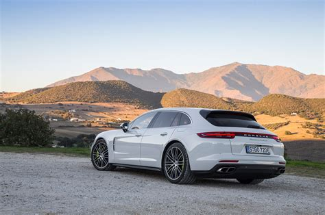 The new panamera, unveiled in 2016, did much to silence the critics of its visual design, but it's the sport turismo variation that really clicked with me. 2018 Porsche Panamera Turbo S E-Hybrid Sport Turismo First Drive Review | Automobile Magazine
