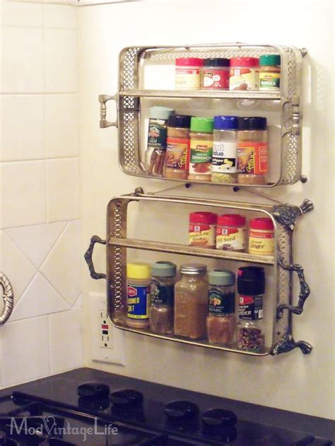 Silver Spice Rack by 10 Creative Ways To Decorate With Vintage Silver