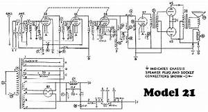 Philco Model 21 Radio Schematic Service Manual Download