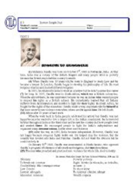 worksheets gandhi 180 s biography review simple past