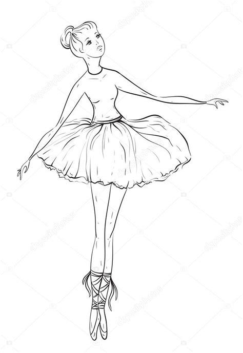 Draw Tumblr Ballerina Easy