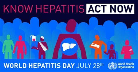 world hepatitis day  printable  calendar templates