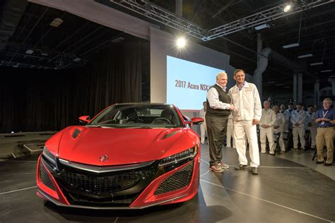 At Long Last, 2017 Acura Nsx Begins Production At Ohio's