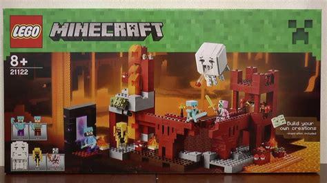lego minecraft  forteca netheru youtube