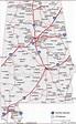 Map of Alabama US States – Map of Usa – World Map