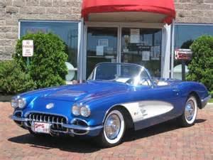 1958 Corvette Stingray Convertible