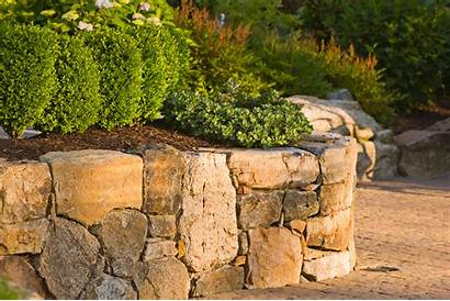 Retaining Stone Natural Wall Walls Landscape Types