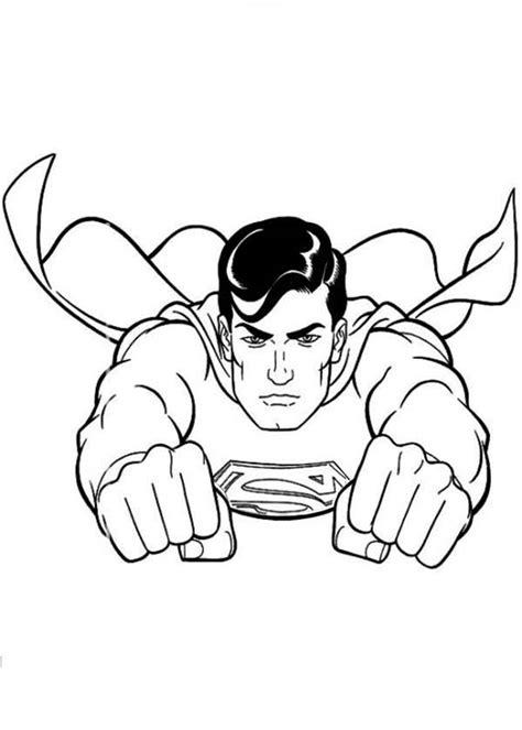 adventures  superman coloring page gianfredanet