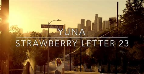 strawberry letter 23 lyrics yuna strawberry letter 23 lyrics genius lyrics 32309