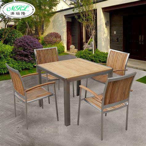 stainless patio furniture chicpeastudio