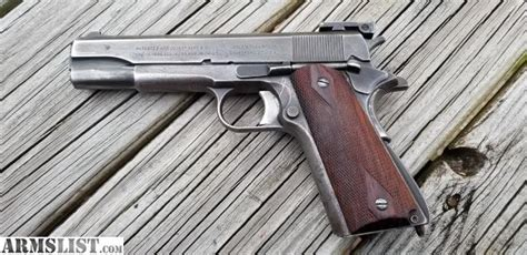 Armslist For Saletrade Wwii Colt 1911 With Remington