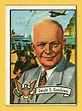 1972 Topps US Presidents #33 Dwight Eisenhower - 34th ...