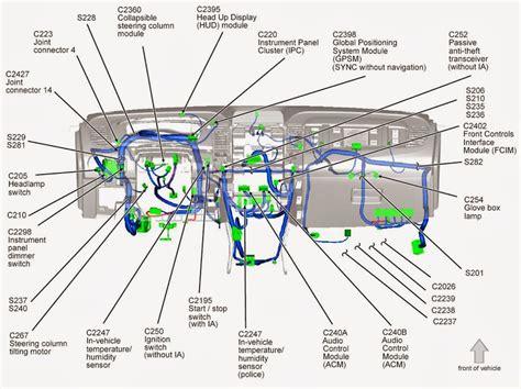 taurus sho vehicle wiring chart kolk
