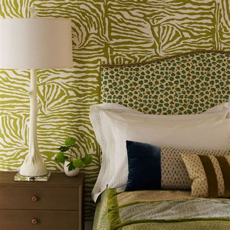Animal Print Bedroom Wallpaper - animal print bedroom bedrooms animal prints