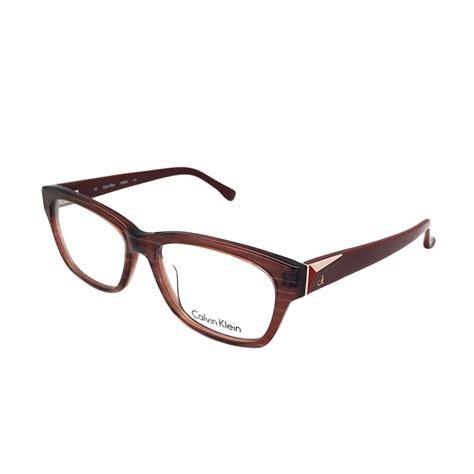 Jual Frame Kacamata Calvin jual calvin klein ck 5835 279 frame kacamata coklat