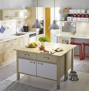 ilot central cuisine ikea en 54 idees differentes et With petit ilot central de cuisine