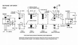U0026quot 500 Lb Machine Screw Jack Lift  Miniature Screw Jack