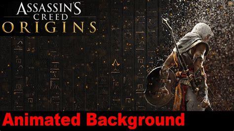Assassin S Creed Animated Wallpaper - assassin s creed origins animated wallpaper 04
