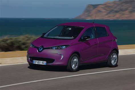 renault occasion electrique renault violet voiture electrique