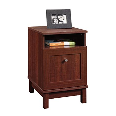 sauder kendall square file stand select cherry furniture
