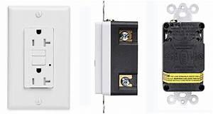 Keygma 220v 20a Tamper Resistant Gfci Wall Outlet