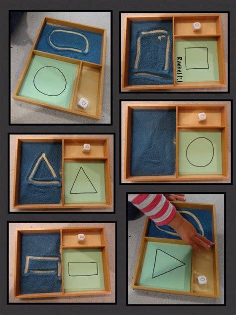shape play montessori trays montessori toddler