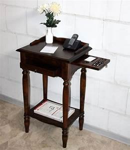 Beistelltisch Holz Massiv : massivholz konsolentisch telefontisch beistelltisch holz massiv kolonial ~ Indierocktalk.com Haus und Dekorationen