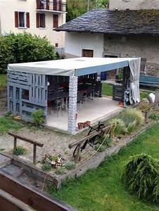 Haus Aus Paletten : 26 besten gartenpavillon selber bauen aus weiden und paletten bilder auf pinterest diy ~ Whattoseeinmadrid.com Haus und Dekorationen