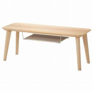 Table Tv Ikea : lisabo tv bench ash veneer 114 x 40 x 45 cm ikea ~ Teatrodelosmanantiales.com Idées de Décoration